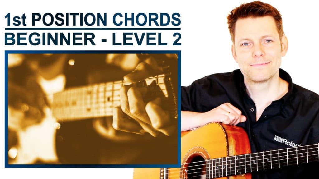 1st position chords Beginner Level 2