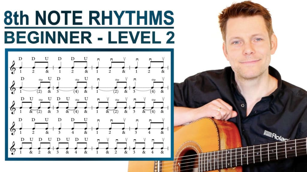 8th note rhythms beginner level 2