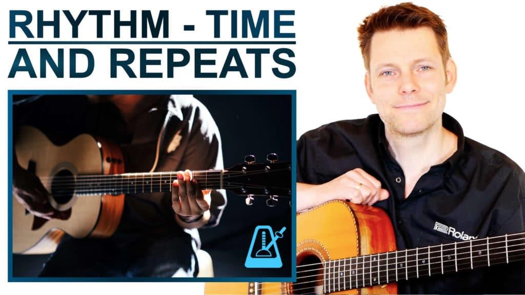 GUITAR BASICS RHYTHM TIME REPEATS