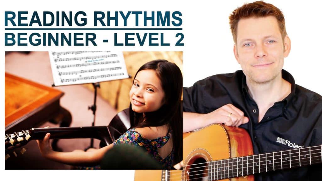reading rhythms beginner level 2
