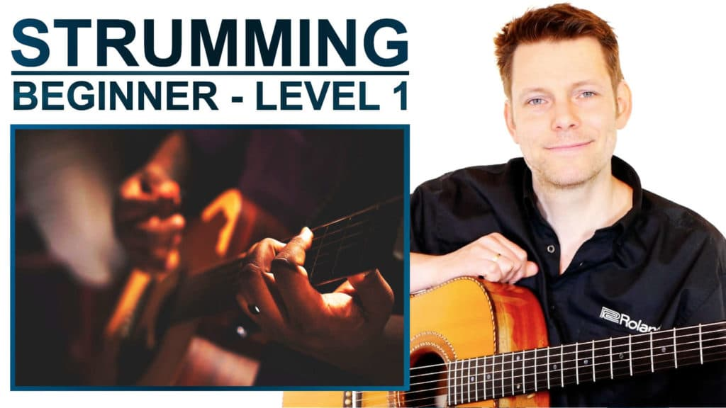 strumming beginner level 1