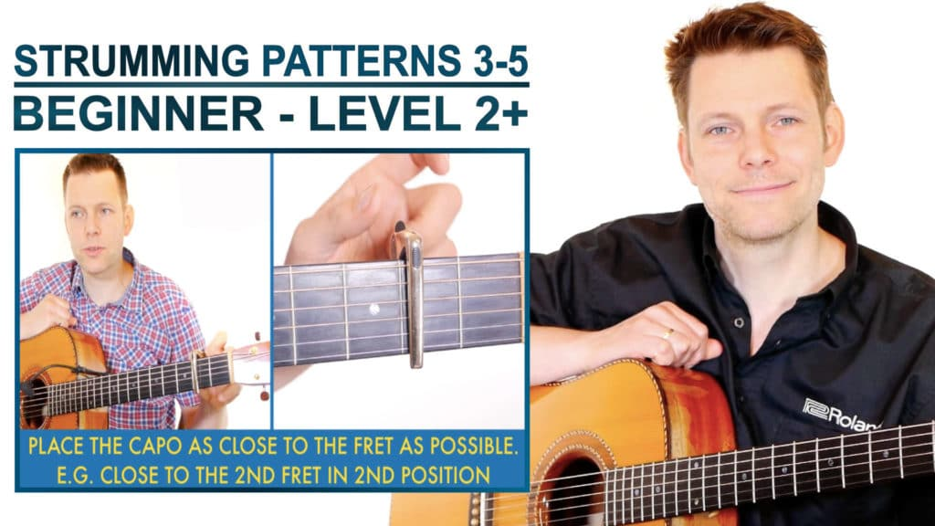 strumming patterns 3 5 beginner level 2