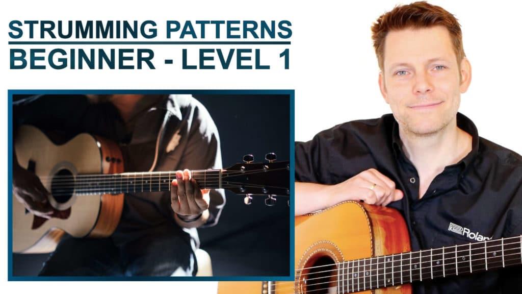 strumming patterns beginner level 1